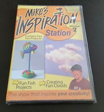 Mike's Inspiration Station: Volume 7 (DVD) kids arts crafts projects NEW