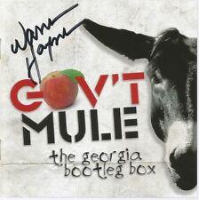 Georgia Bootleg Box * by Gov't Mule (6 CD, Oct-2012, Evil Teen) Original Signed