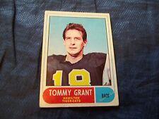 1968 OPC O-Pee-Chee CFL #54 Tommy Grant Hamilton Tiger-Cats - vgex