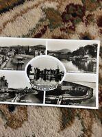 T2-1 Postcard Used 1956 Caernarvon Views Rp Walton Address