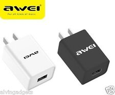 Awei USB 2A Fast Charger For Asus Vivo Oppo iPhone iPad Smartphone Tablet(White)