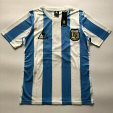 Maglia Maglietta Retrò Calcio Argentina Mexico Messico 1986 Maradona Home Shirt