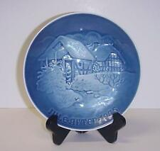 Bing & Grondahl The Old Water Mill Christmas Plate Copenhagen