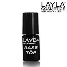 Layla Layba Smalto Gel Polish Base & Top Coat