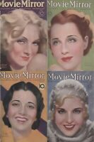 48 OLD ISSUES OF MOVIE MIRROR - MOVIE STARS NEWS FAN MAGAZINE (1931-1936) ON DVD