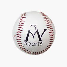 "Baseball Ball 9"" Genuine Leather Outdoor Practice Sport Training Balls Softball"
