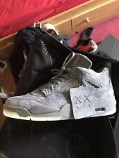 Air Jordan Retro 4 Kaws Wolf Grey 1 3 5 6 7 8 9 10 11 12 13 14