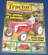 TRACTOR & MACHINERY DECEMBER 2010 - THE CHOICE OF SUBURBIA