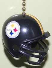 PITTSBURGH STEELERS CEILING FAN LIGHT PULL & CHAIN NFL FOOTBALL HELMET