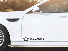 2 x Kia Stickers for Doors Pro Ceed Optima Rio Soul Sportage Stinger