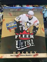 NHL 2007-08 FLEER FAT PACK Factory Sealed DISPLAY Box  | 1 BOX | RARE