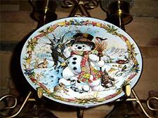 Frosty the Snowman Franklin Mint Christmas Plate