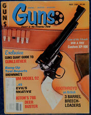 Magazine *GUNS* July 1981 !BROWNING Model 32 CARBINE! *H&K VP-70 Machine PISTOL*