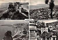 Cartolina - Postcard - Saluti da - Terracina - Vedutine - 1955