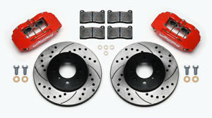Wilwood Forged DPHA Front Caliper and Rotor Kit For Acura Integra Honda Civic