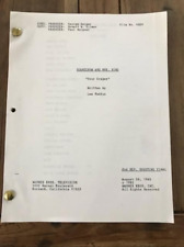 """Scarecrow and Mrs. King TV show script - """"Sour Grapes"""""""