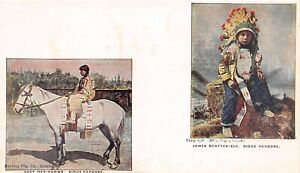 H36/ Native American Indian Postcard c1910 Sioux Papoose Lucy-Her-Knows 8