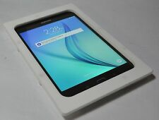 Samsung Galaxy Tab A 8.0 White Acrylic Security Enclosure w Wall Mount Kit