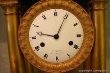Original Empire Kaminuhr Portal-Uhr Hunziker Rue de Bussy No22 Paris