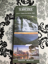 2019 TENNESSEE TRANSPORTATION MAP inc. Major four towns in Tennessee