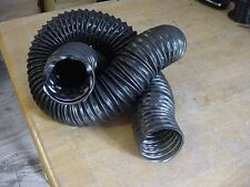 "Dodge 2.5"" Black Flexible Air Cleaner Intake Tube Hose Defroster SOLDBY FOOT Nos"