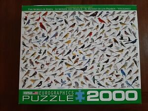 EuroGraphics The World of Birds Jigsaw Puzzle (2000-Piece) Sibley