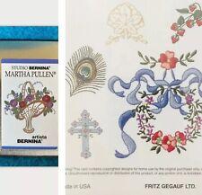 Studio Bernina Martha Pullen Pc Embroidery Design Card