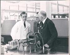 Dunlop Research Centre 1950 opening ceremony.  Sir Lawrence Bragg +  co.5A