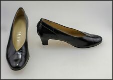 HASSIA WOMEN'S HEELS ALL LEATHER FASHION SHOES SIZE 8.5 AU, 6.5UK WIDE