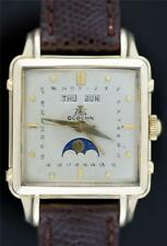 Gubelin 1950's, Complete Calendar with Moon Phases; IPSO MATIC Triple Date Watch