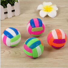 Volleyball Flash Light Bouncing Tired Relief Hedgehog Massage Ball Kids LED Toy