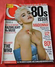 Madonna August 2006 Q Import UK Music Magazine