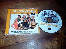 CD  Superstars de la chanson n°1 Johnny, Cloclo, Mike Brant, Sardou, Eddy...
