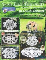 Crochet Irish lace Placemats Annie Potter Presents Pattern