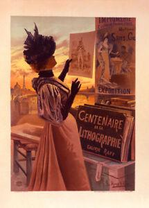 l'Exposition du Centenaire by Hugo F. D'Alesi 90cm x 64cm Art Paper Print
