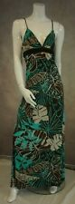 Maxi Dress Size 12 Jane Norman Tropical Print