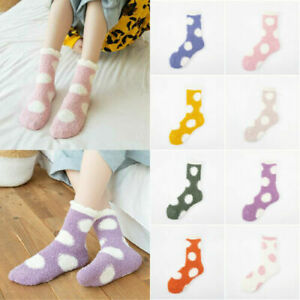 Ladies Socks One Size Gift Bed Socks Warm Winter Cosy Lounge Fluffy Soft