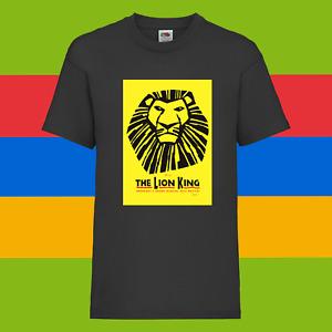 The Lion King Disney Musical Drama Unisex Kids Birthday Holiday Top T-shirt  8