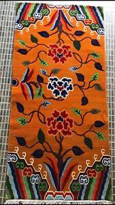 Tibetan flower traditional carpet