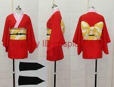 Gintama Kagura kimono Cosplay Costume Any Size