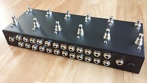 12 Looper - Loop Pedal - True Bypass -  Pedal Board - Guitar Effects Switcher