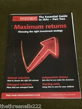 WHAT INVESTMENT ESSENTIAL ISA GUIDE Pt 2 - MARCH 2008