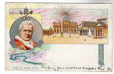 Pius X. Pont. Max. - Art Postcard 1904 / Pope