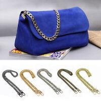 120cm Metal Strap Replacement Handle Purse Handbag Shoulder Bag Crossbody Chain