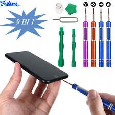 9 In 1 Phone Repair Opening Pry Tools Screwdriver Kit iPhone X XR XS 8 7 6 5 4