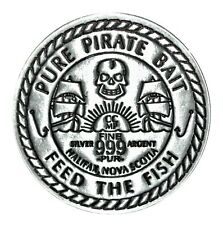 Halifax, NS - Pure Pirate Bait - 1 oz. Fine Silver Medal - Limited Edition