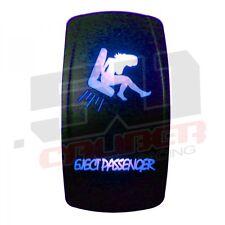 Rocker Switch On/Off Eject Passenger LED Light Ski Wake Fish Pontoon Boat Blue