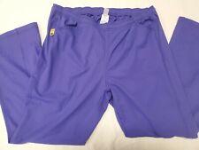 WonderWink Scrubs 5205 Women's Boot Cut Pants Plus Size 1X - Color Purple