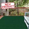 Green Outdoor Area Rug 6 Ft x 8 Ft Patio Entryway Deck Floor Stain Wear Resist