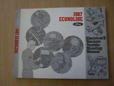 Ford Econoline 1987 Wiring diagram Electrical manual Schaltpläne Handbuch